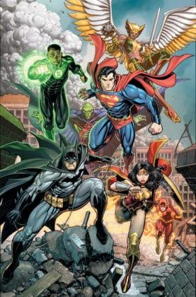Un premier aperçu de Justice League de Venditti et Mahnke disponible 2