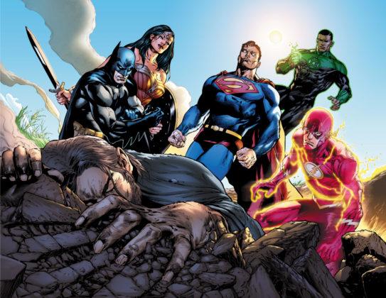 Un premier aperçu de Justice League de Venditti et Mahnke disponible 4