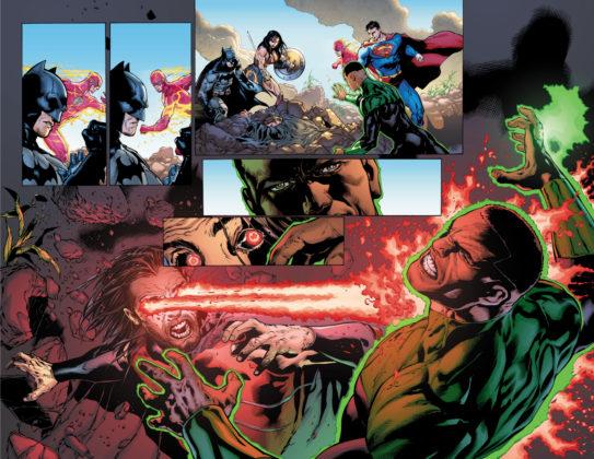 Un premier aperçu de Justice League de Venditti et Mahnke disponible 5