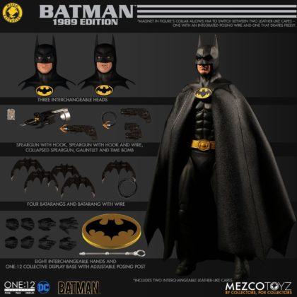 Le Batman de Keaton réapparait avec la figurine Mezco Toyz : Batman - 1989 Edition 1