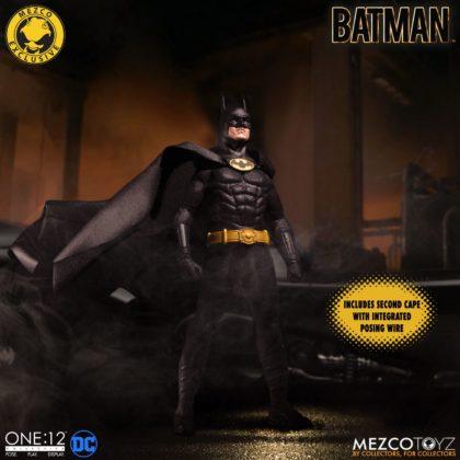 Le Batman de Keaton réapparait avec la figurine Mezco Toyz : Batman - 1989 Edition 7