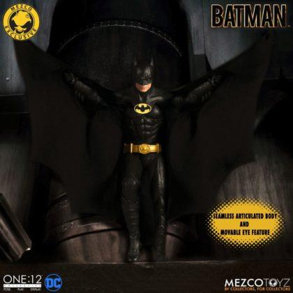 Le Batman de Keaton réapparait avec la figurine Mezco Toyz : Batman - 1989 Edition 6