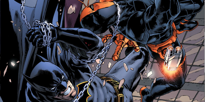 Review VF - Batman VS Deathstroke 2