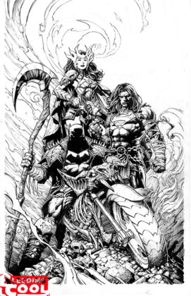 Dark Nights : Death Metal dévoile son histoire et plein de covers 7