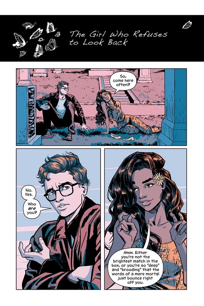 Victor and Nora: le graphic novel sur la jeunesse de Mr Freeze sera disponible le 3/11 2