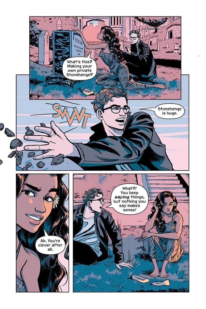 Victor and Nora: le graphic novel sur la jeunesse de Mr Freeze sera disponible le 3/11 3