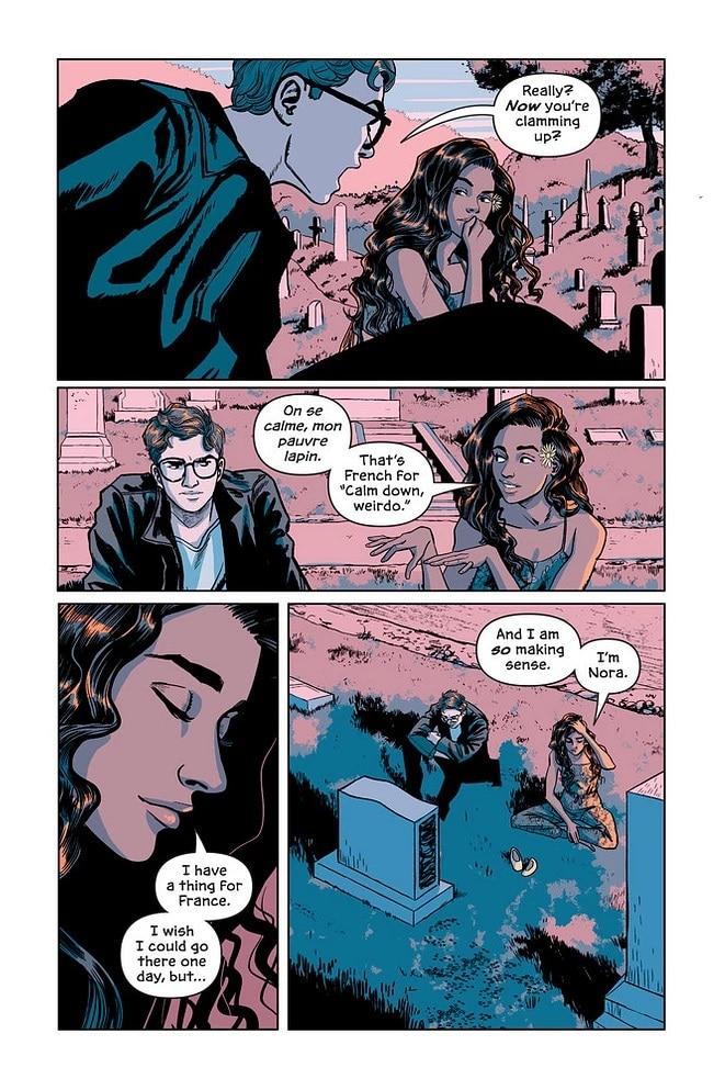 Victor and Nora: le graphic novel sur la jeunesse de Mr Freeze sera disponible le 3/11 4