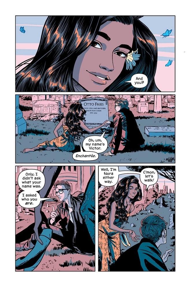 Victor and Nora: le graphic novel sur la jeunesse de Mr Freeze sera disponible le 3/11 5