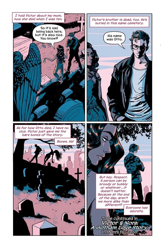 Victor and Nora: le graphic novel sur la jeunesse de Mr Freeze sera disponible le 3/11 6
