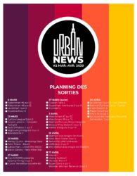 Urban reporte ses publications du 20/03 au 20/04: Comment s'organisent les libraires ? 1