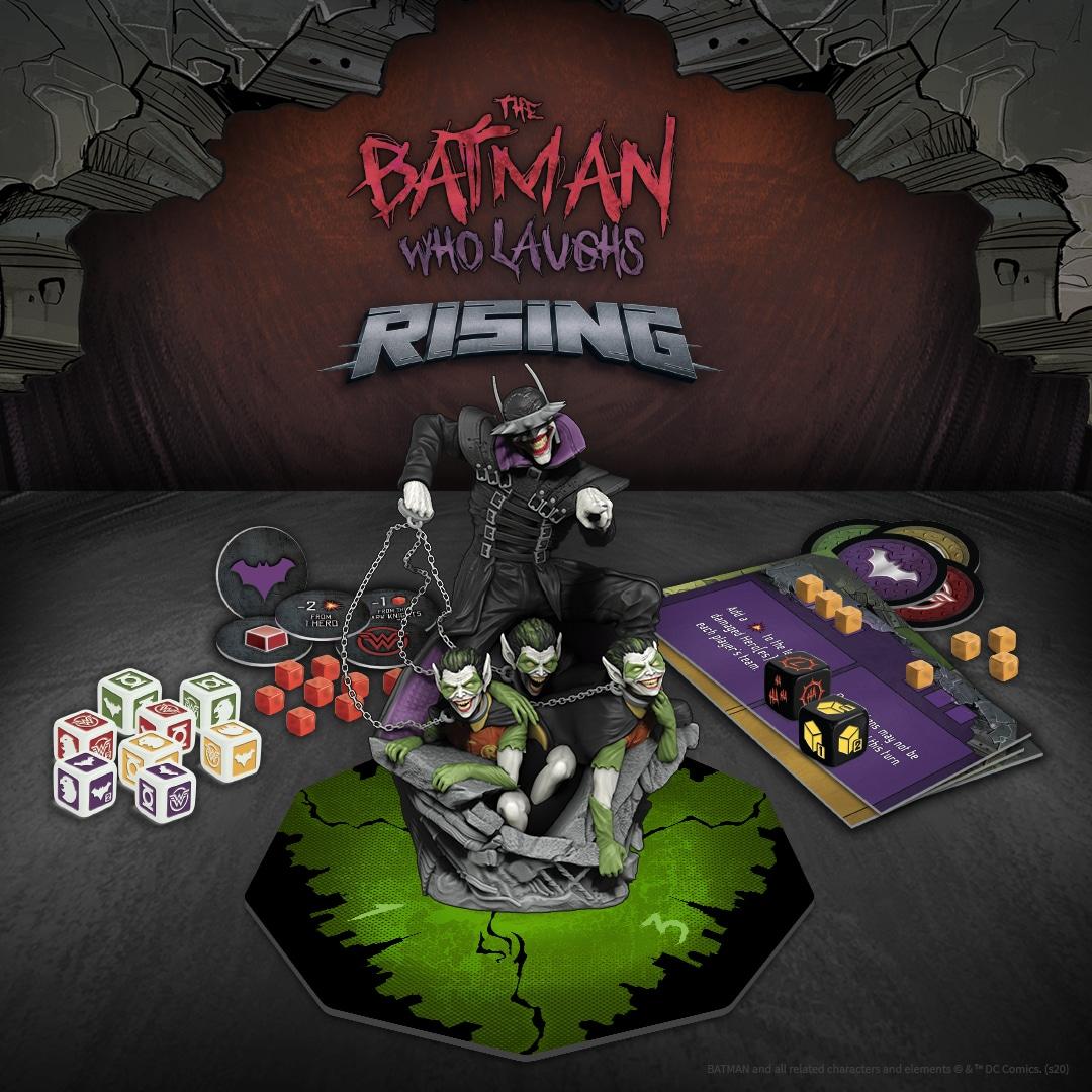 Un jeu de plateau vous proposera de combattre Batman Who Laughs 3