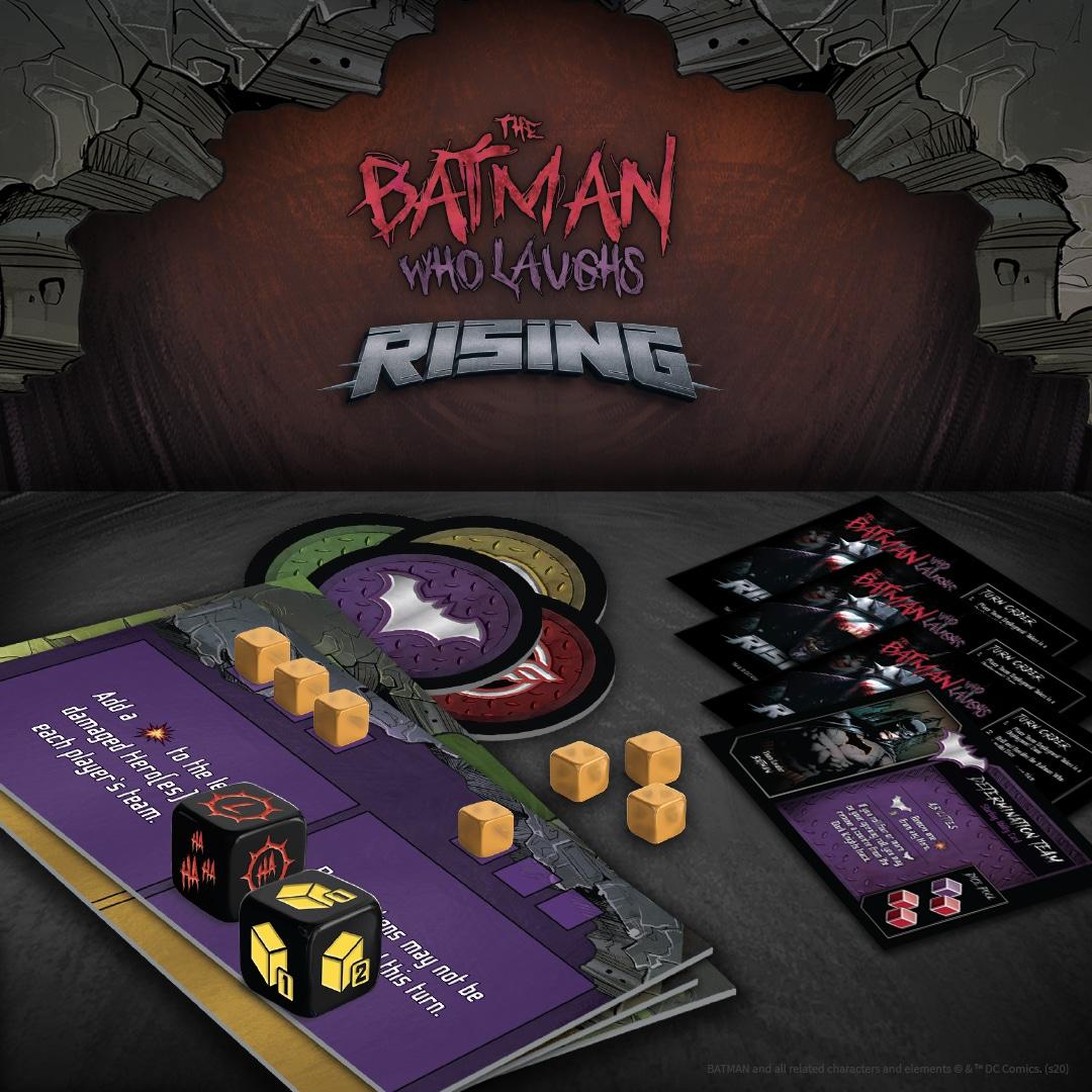 Un jeu de plateau vous proposera de combattre Batman Who Laughs 4
