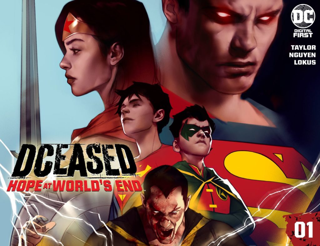 DC annonce DCeased : Hope at World's End 1