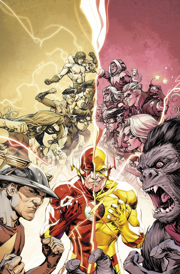 DC annonce Finish Line, dernier arc de Williamson sur Flash 1