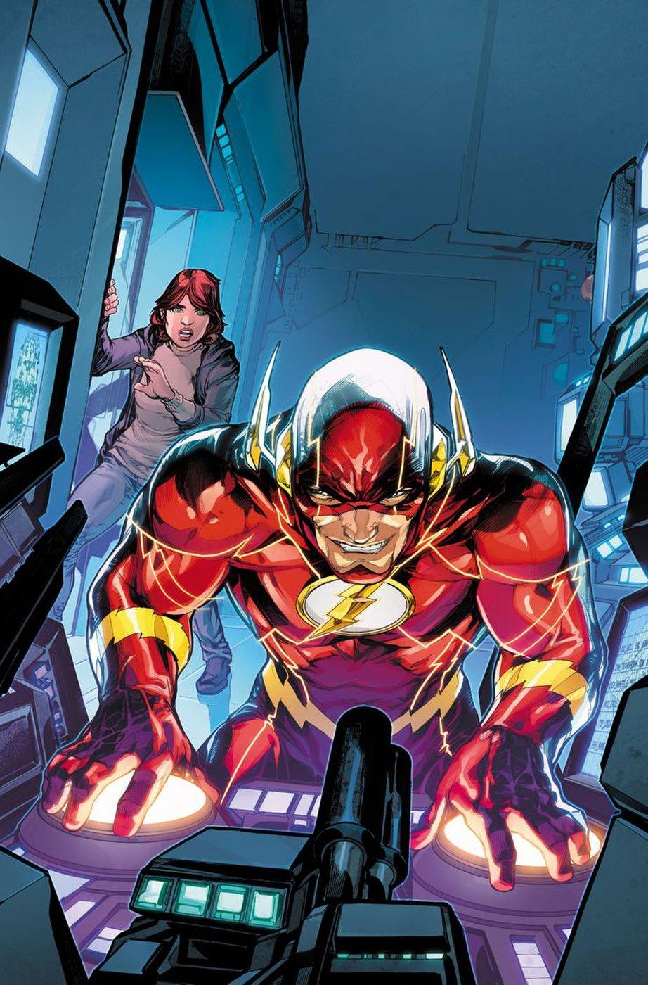 DC annonce Finish Line, dernier arc de Williamson sur Flash 4