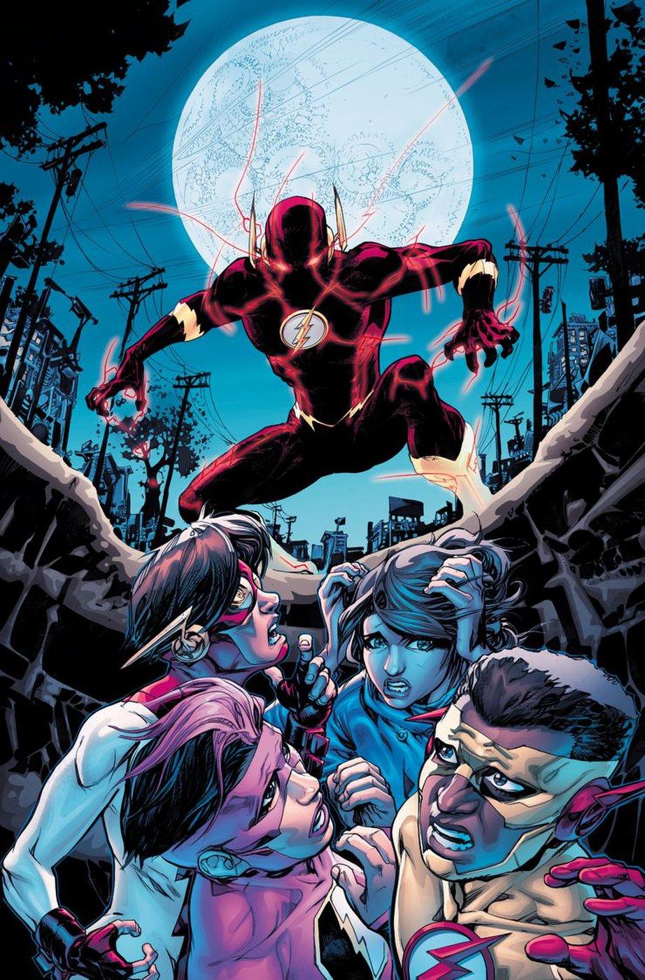 DC annonce Finish Line, dernier arc de Williamson sur Flash 5