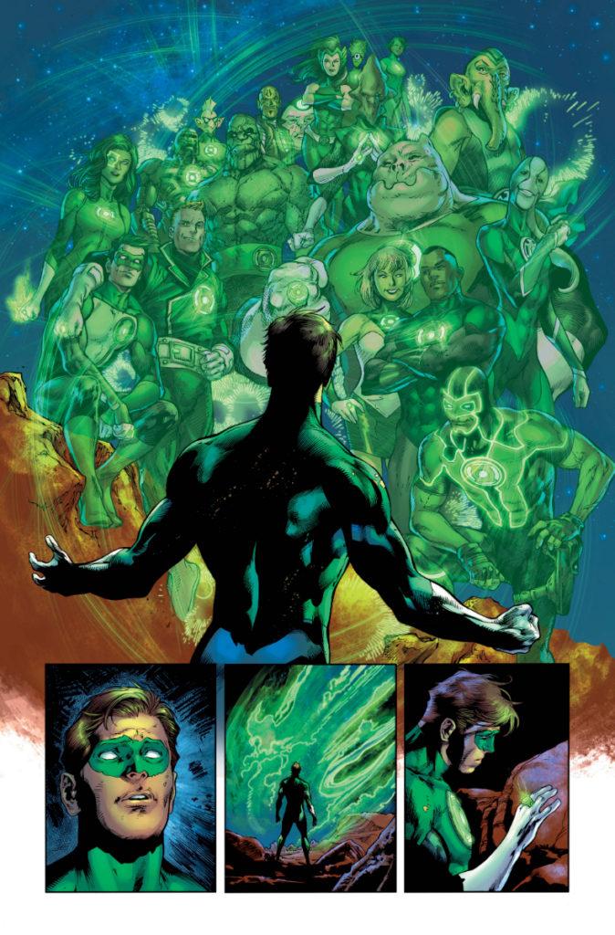 Les équipes créatives et un aperçu de Green Lantern 80th Anniversary dévoilés 11