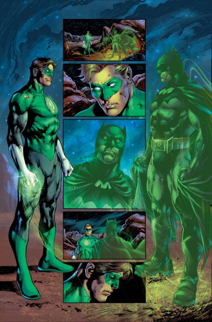 Les équipes créatives et un aperçu de Green Lantern 80th Anniversary dévoilés 12