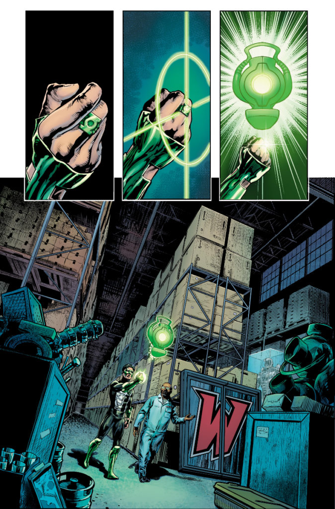 Les équipes créatives et un aperçu de Green Lantern 80th Anniversary dévoilés 13