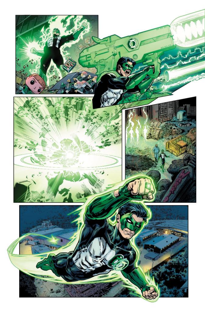 Les équipes créatives et un aperçu de Green Lantern 80th Anniversary dévoilés 14