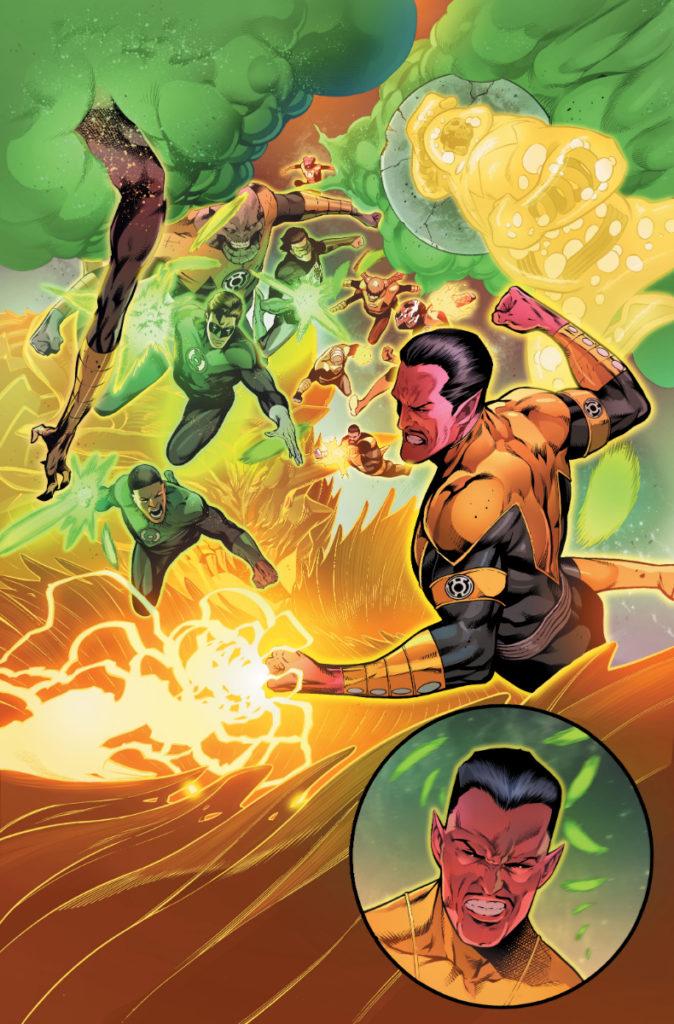 Les équipes créatives et un aperçu de Green Lantern 80th Anniversary dévoilés 15
