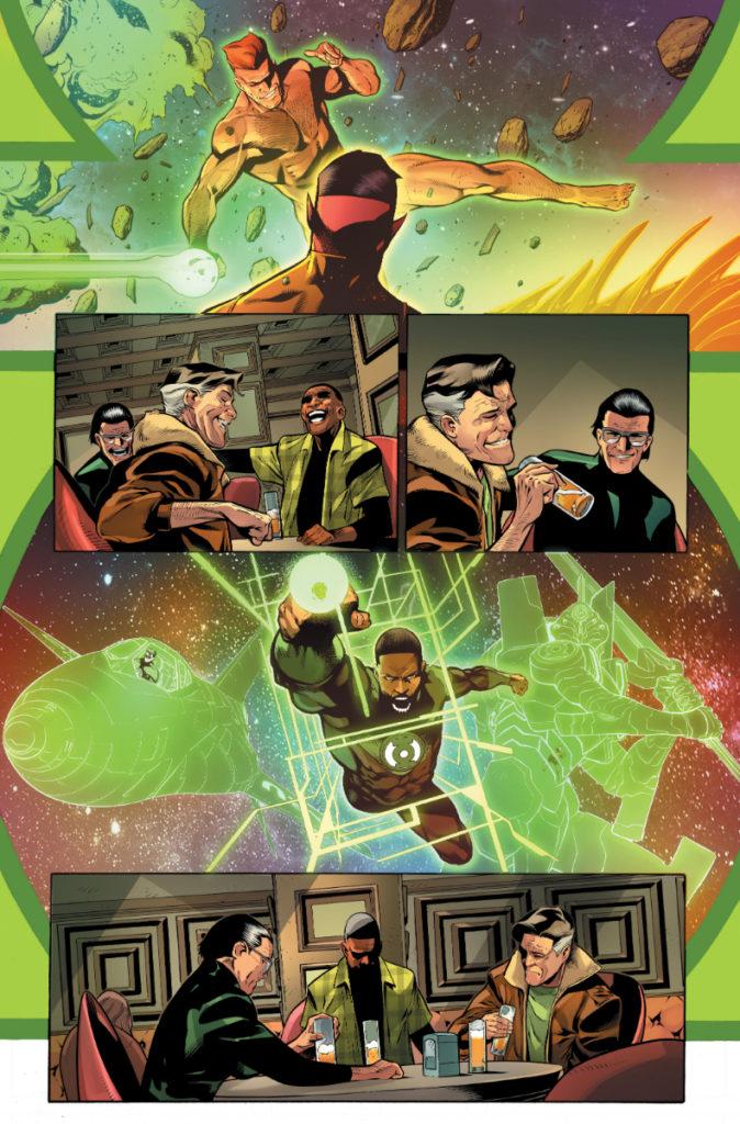 Les équipes créatives et un aperçu de Green Lantern 80th Anniversary dévoilés 16