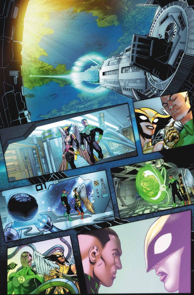 Les équipes créatives et un aperçu de Green Lantern 80th Anniversary dévoilés 17