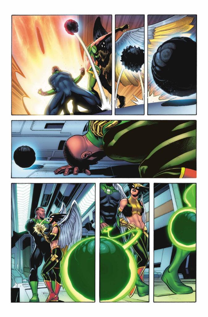 Les équipes créatives et un aperçu de Green Lantern 80th Anniversary dévoilés 18