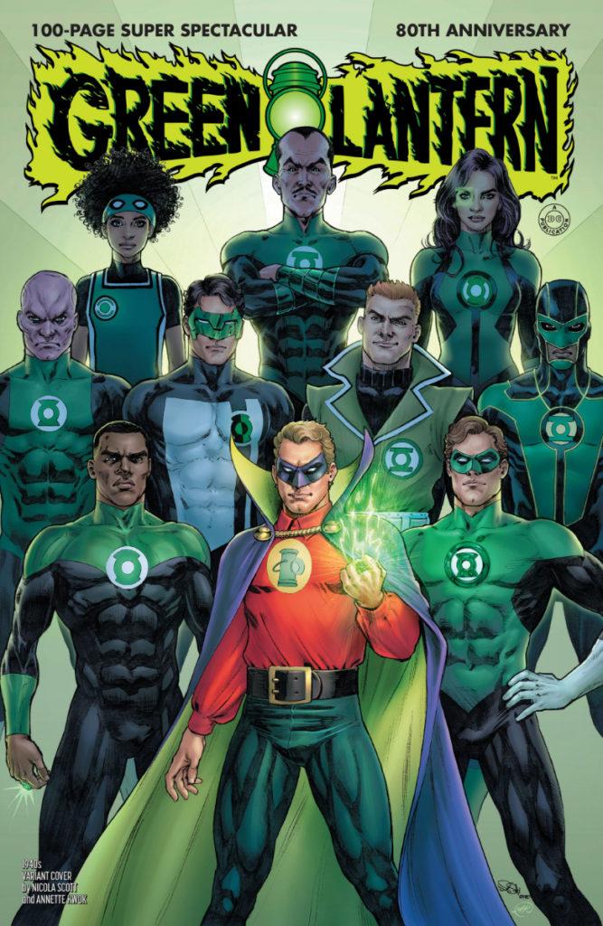 Les équipes créatives et un aperçu de Green Lantern 80th Anniversary dévoilés 2