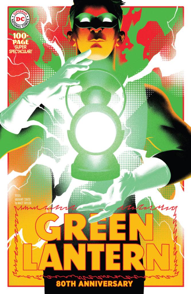Les équipes créatives et un aperçu de Green Lantern 80th Anniversary dévoilés 3