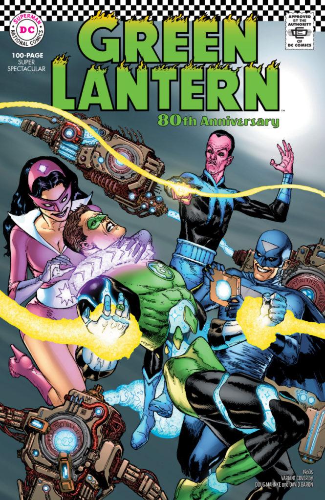 Les équipes créatives et un aperçu de Green Lantern 80th Anniversary dévoilés 4