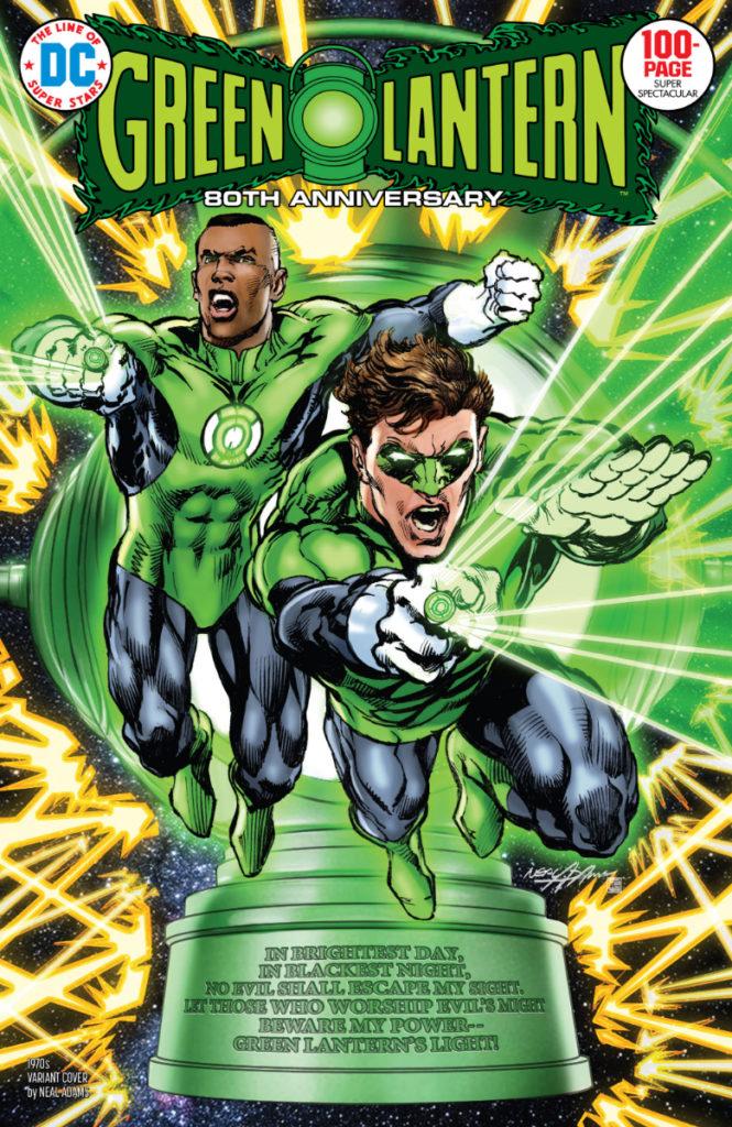 Les équipes créatives et un aperçu de Green Lantern 80th Anniversary dévoilés 5