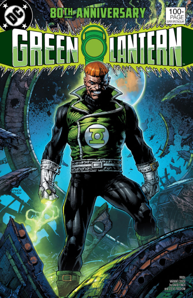 Les équipes créatives et un aperçu de Green Lantern 80th Anniversary dévoilés 6