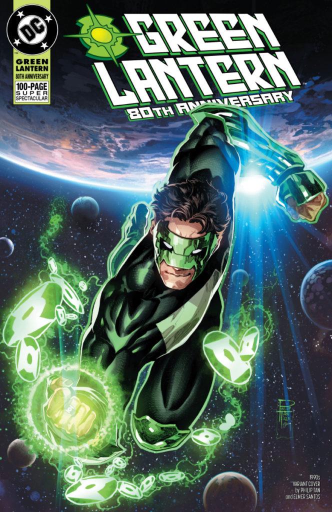 Les équipes créatives et un aperçu de Green Lantern 80th Anniversary dévoilés 7