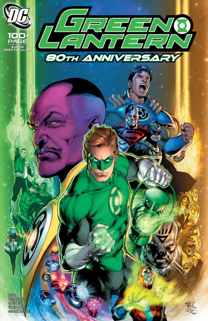 Les équipes créatives et un aperçu de Green Lantern 80th Anniversary dévoilés 8
