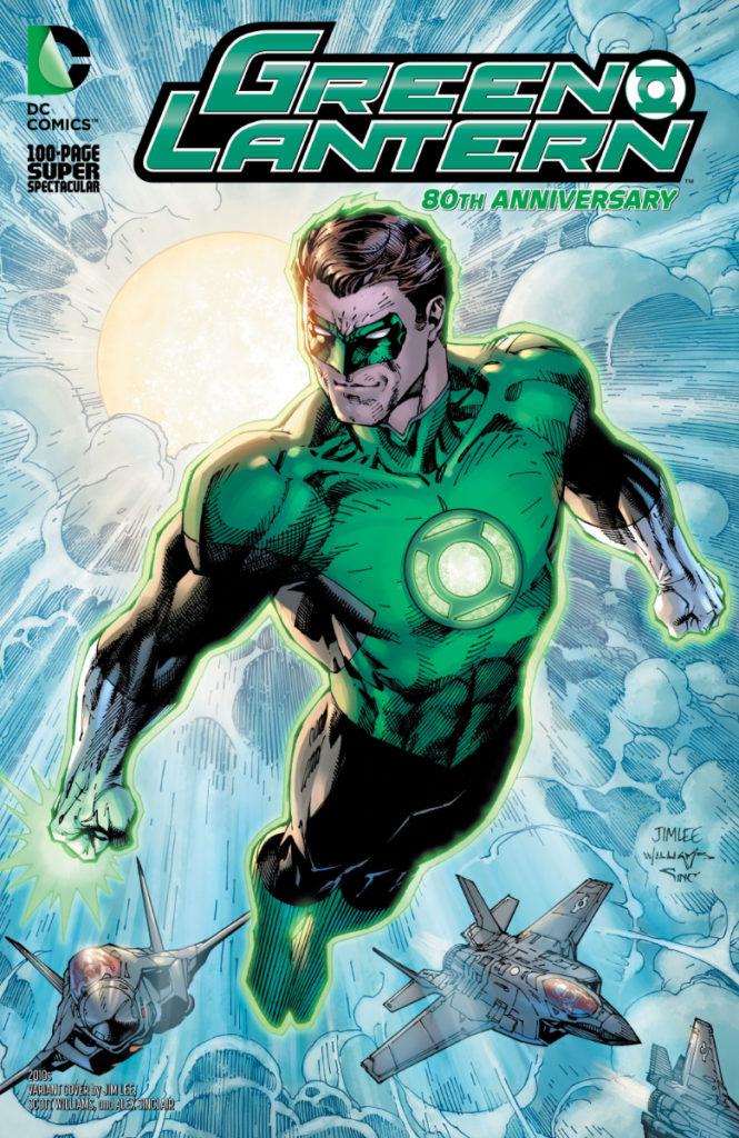Les équipes créatives et un aperçu de Green Lantern 80th Anniversary dévoilés 9
