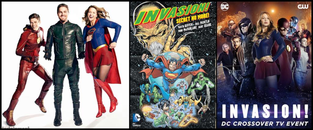 Les séries se réunissent pour le crossover Invasion!