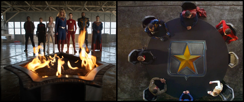 La Justice League se forme à la fin de Crisis on Infinite Earths