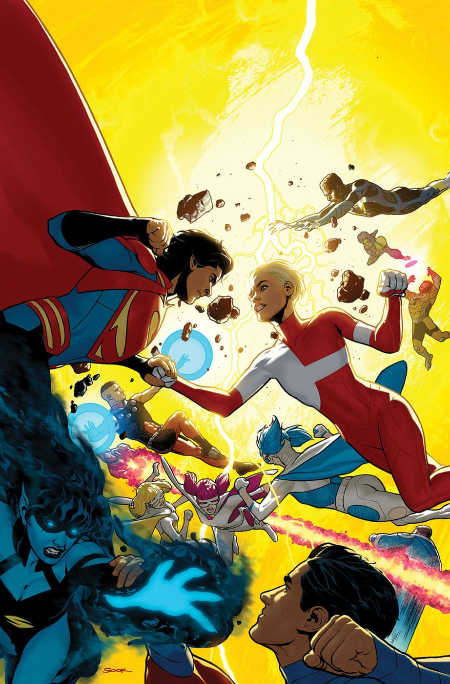 Bendis organise un mini-event Legion of the Super-Heroes avec 44 artistes 1