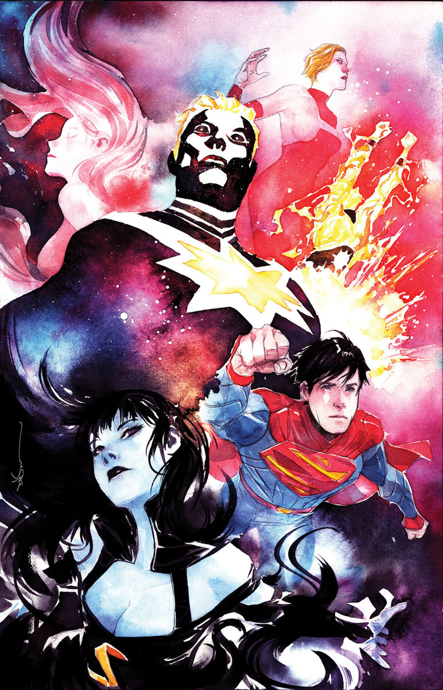 Bendis organise un mini-event Legion of the Super-Heroes avec 44 artistes 2