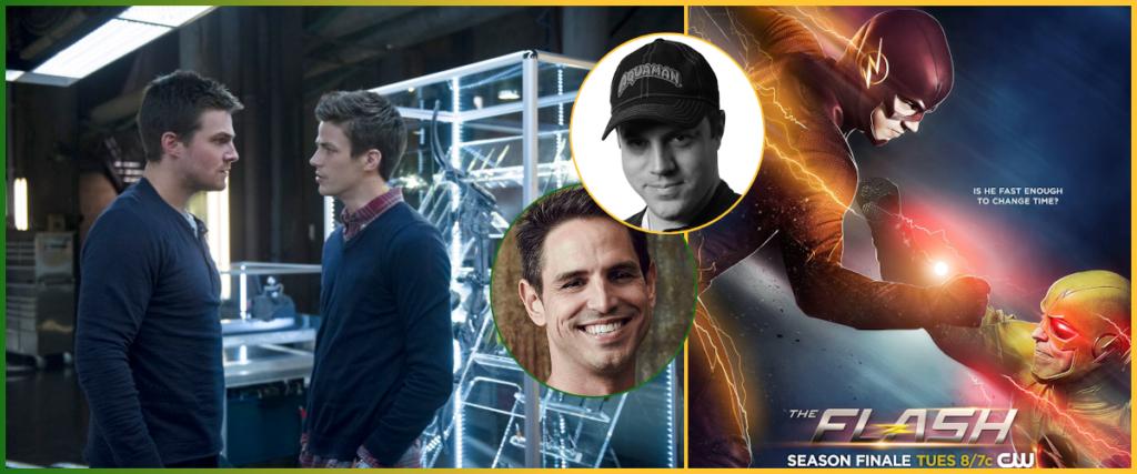 Barry Allen dans Arrow + The Flash
