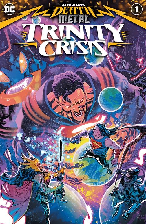 Death Metal : DC annonce Trinity Crisis et Multiverse's End 27