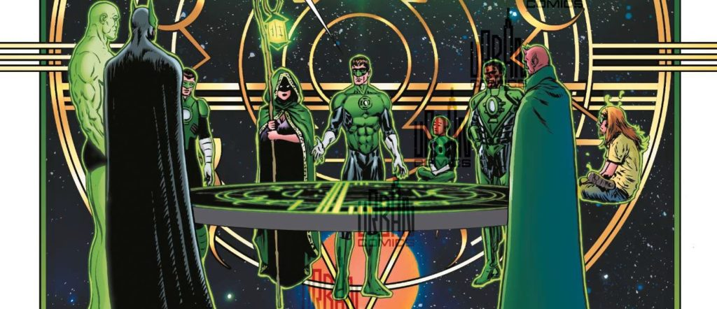 Green Lantern Liam Sharp