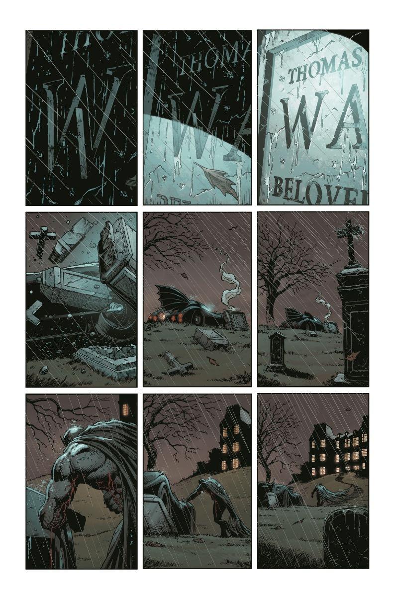 De nouvelles pages et couvertures pour Three Jokers 1