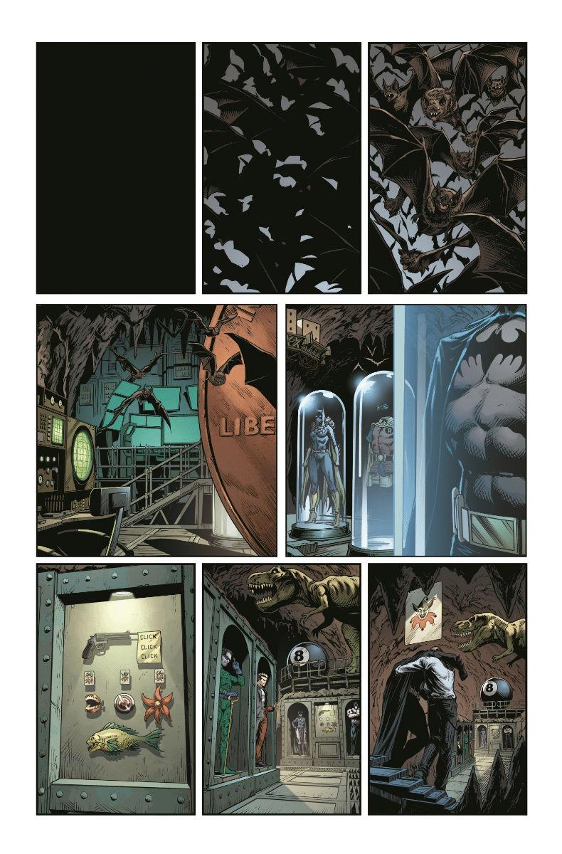 De nouvelles pages et couvertures pour Three Jokers 2