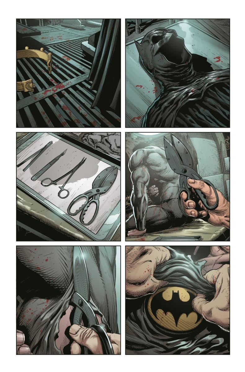 De nouvelles pages et couvertures pour Three Jokers 3