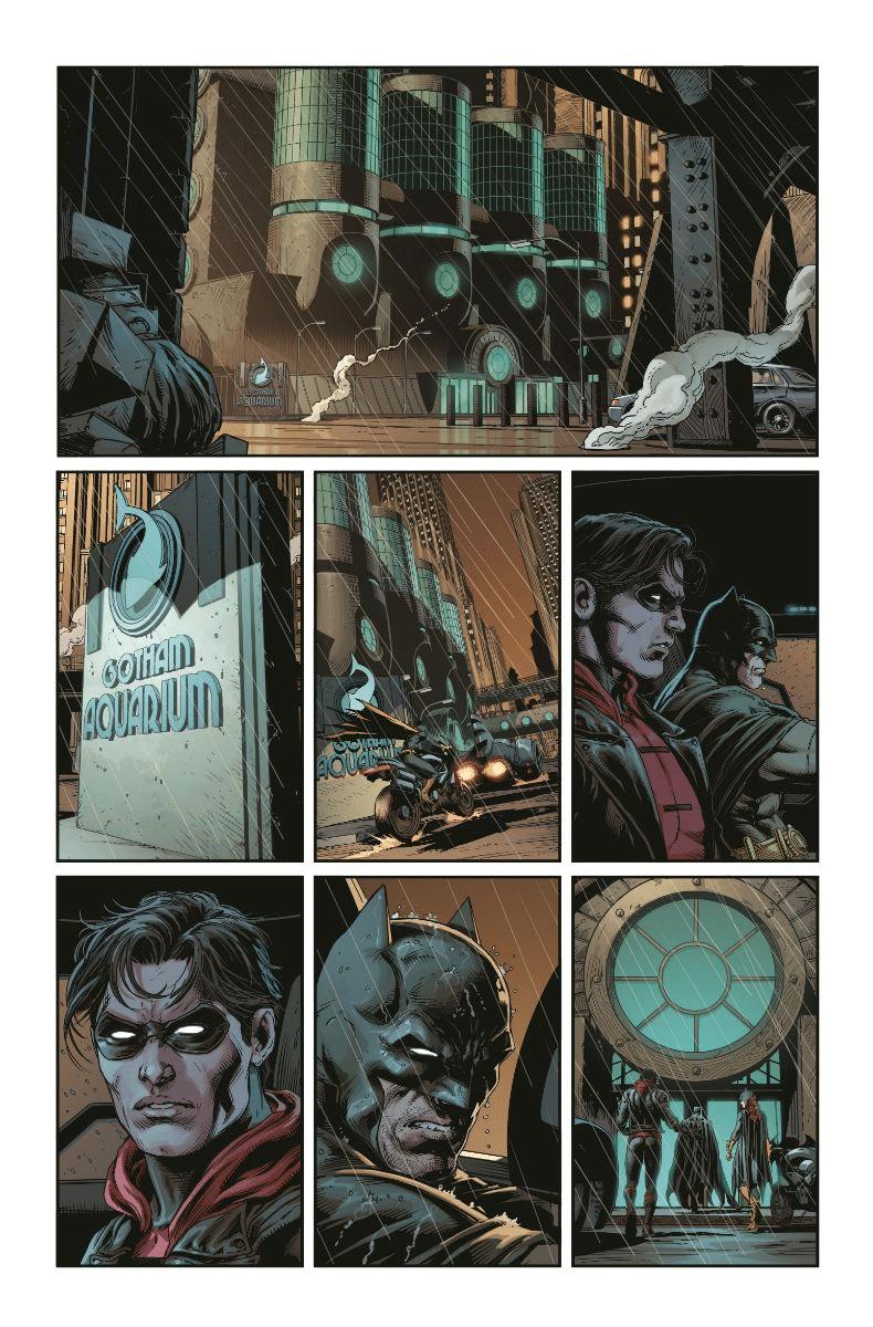 De nouvelles pages et couvertures pour Three Jokers 7