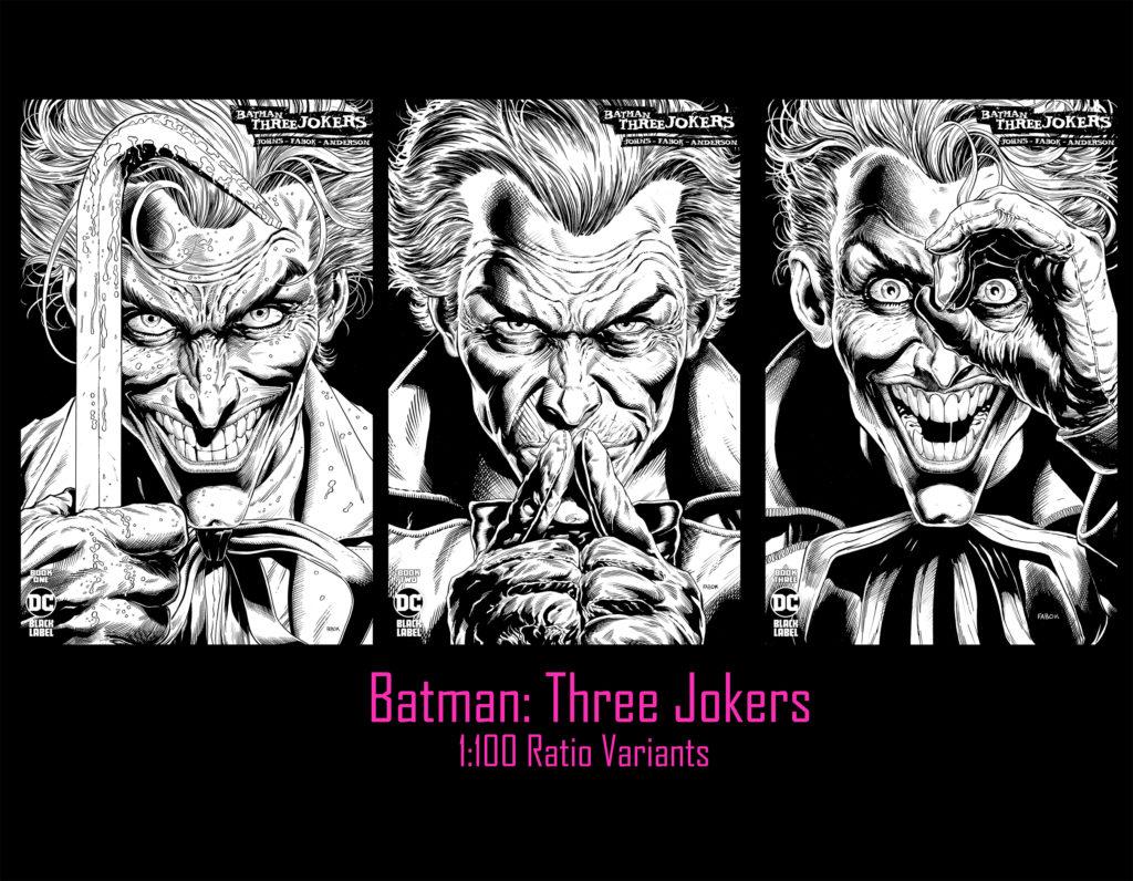 De nouvelles pages et couvertures pour Three Jokers 10
