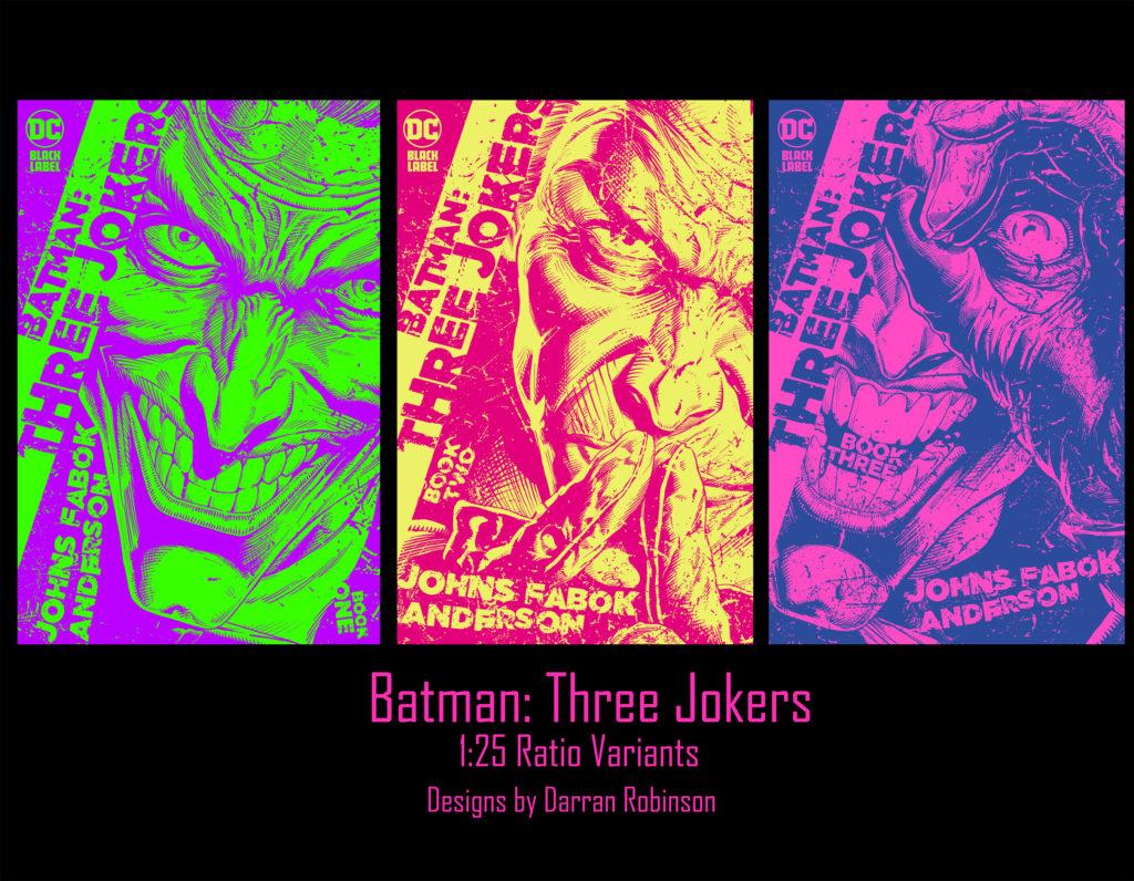 De nouvelles pages et couvertures pour Three Jokers 9