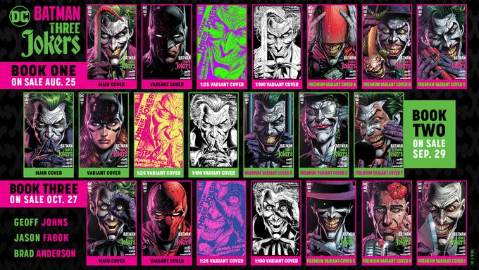 De nouvelles pages et couvertures pour Three Jokers 11